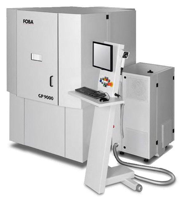 Lasergravur Maschine Foba GP9000